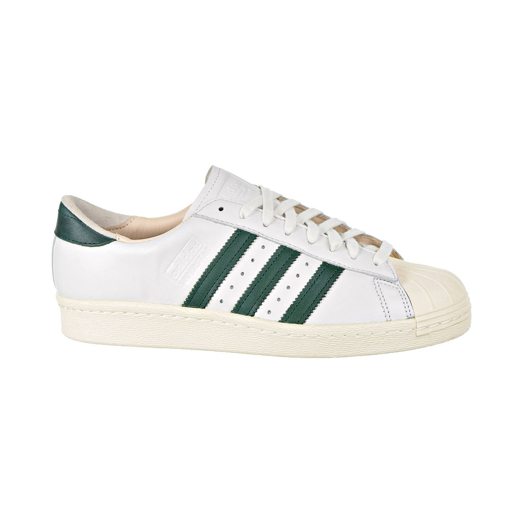 Adidas Superstar 80s Recon Men's Shoes Crystal White/Collegiate Green