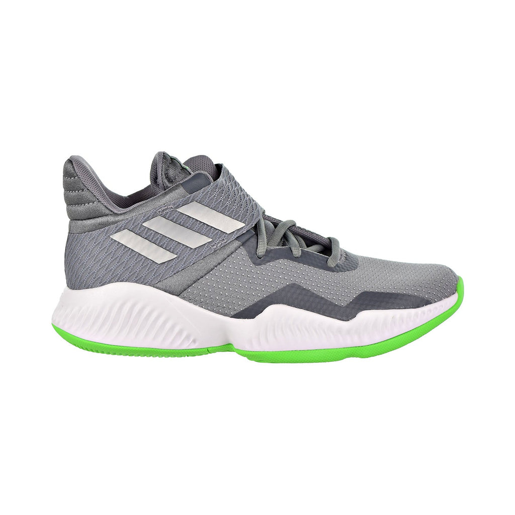 Adidas Explosive Bounce 2018 Big Kids Shoes Green/Silver