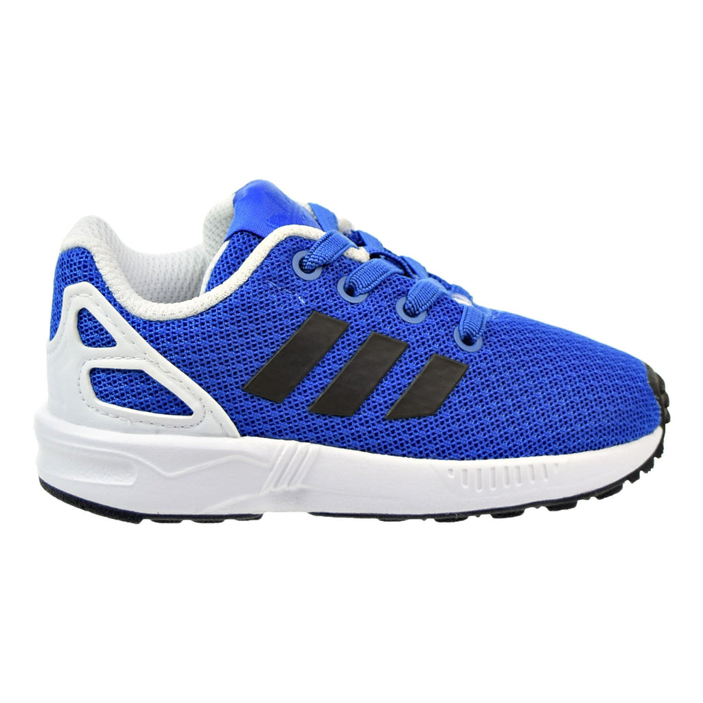 Adidas Originals ZX Flux EL Infant Shoes Blue/Core Black/Footwear White