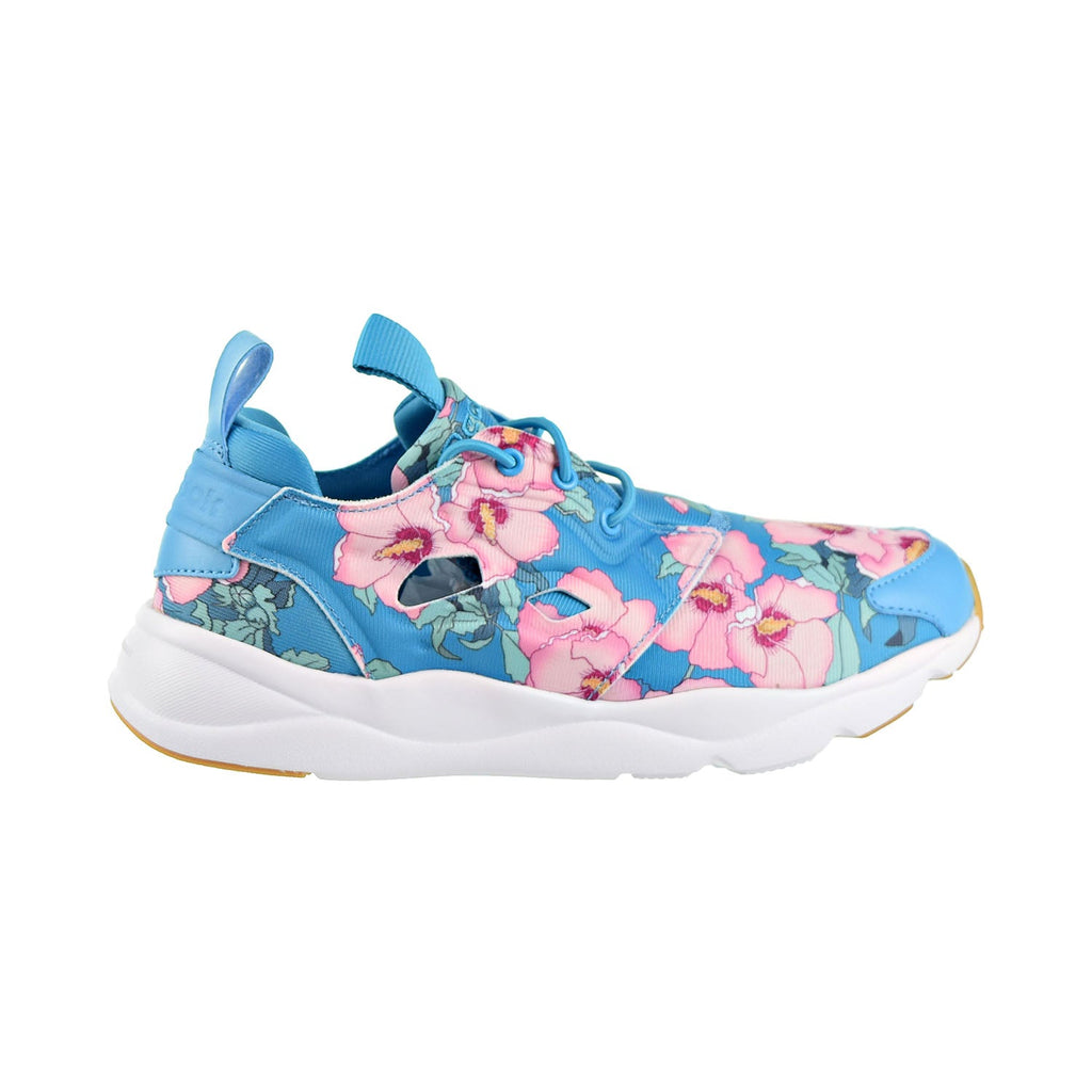 Reebok Furylite FG Floral Women's Shoes Flight Blue/Berry/Pink