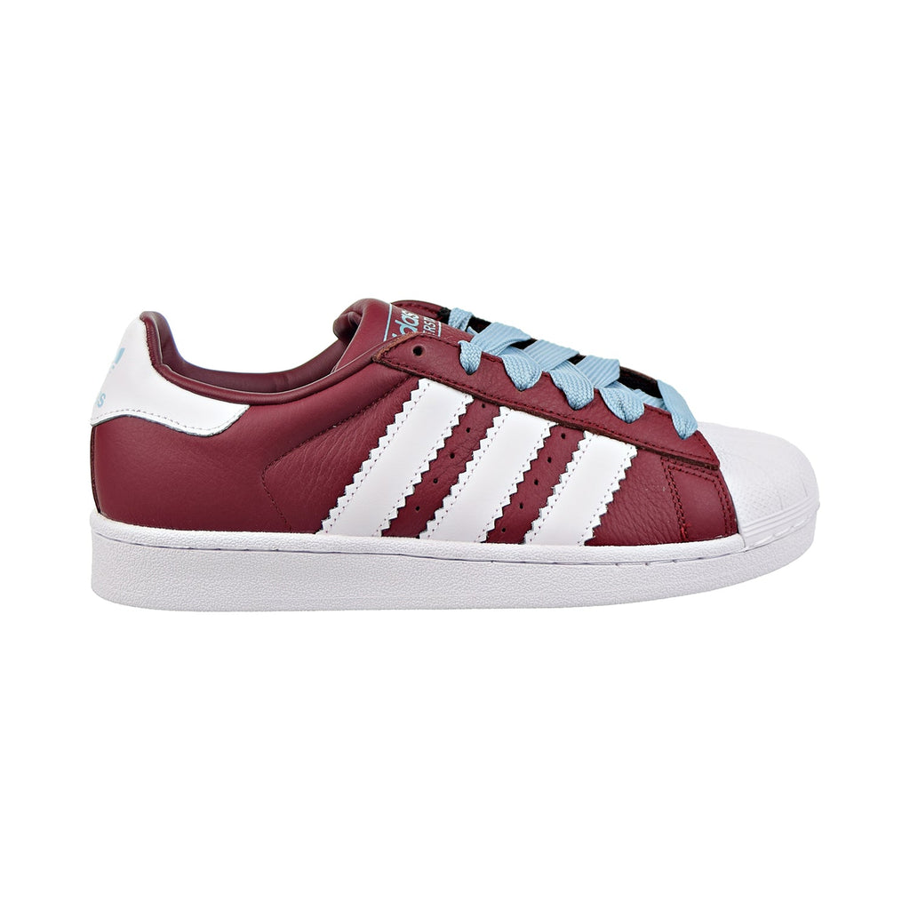 Adidas Superstar Mens Shoes Collegiate Burgundy/Cloud White/Ash Grey
