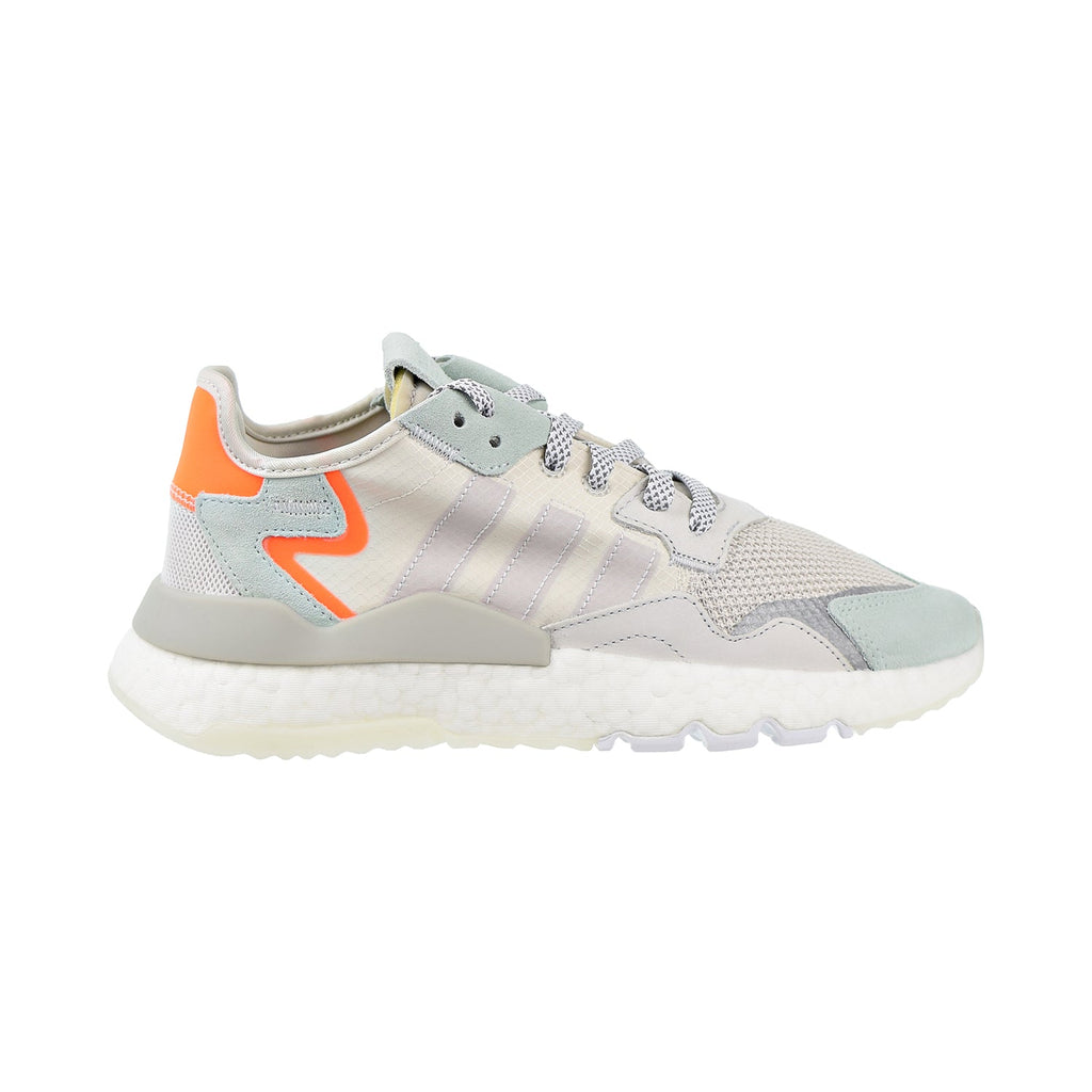 Adidas Nite Jogger Men's Shoes Raw White/Grey One/Vapour Green