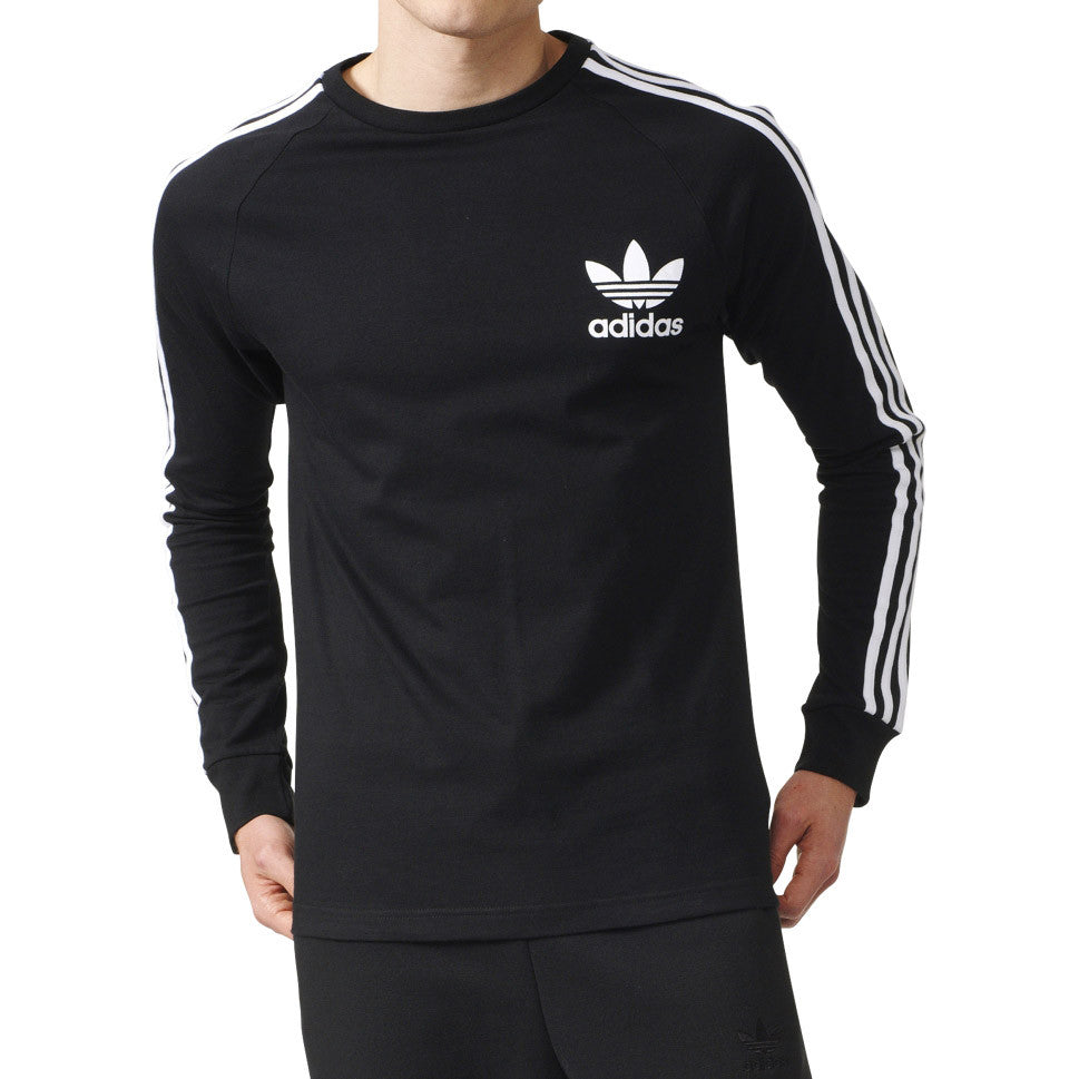 Adidas Originals California Longsleeve Men's T-Shirt Black/White