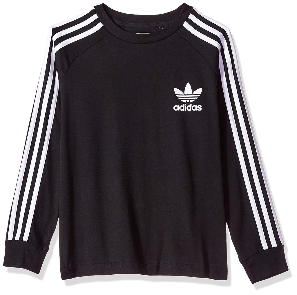 Adidas Kids Originals California Long Sleeves Tee Black
