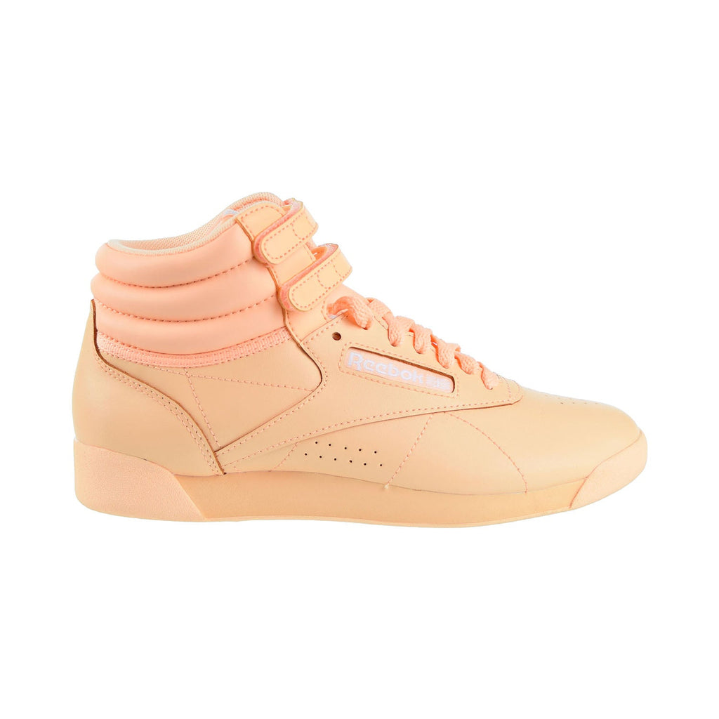 Reebok Freestyle Hi Colors Women's Shoes Desert Glow/White