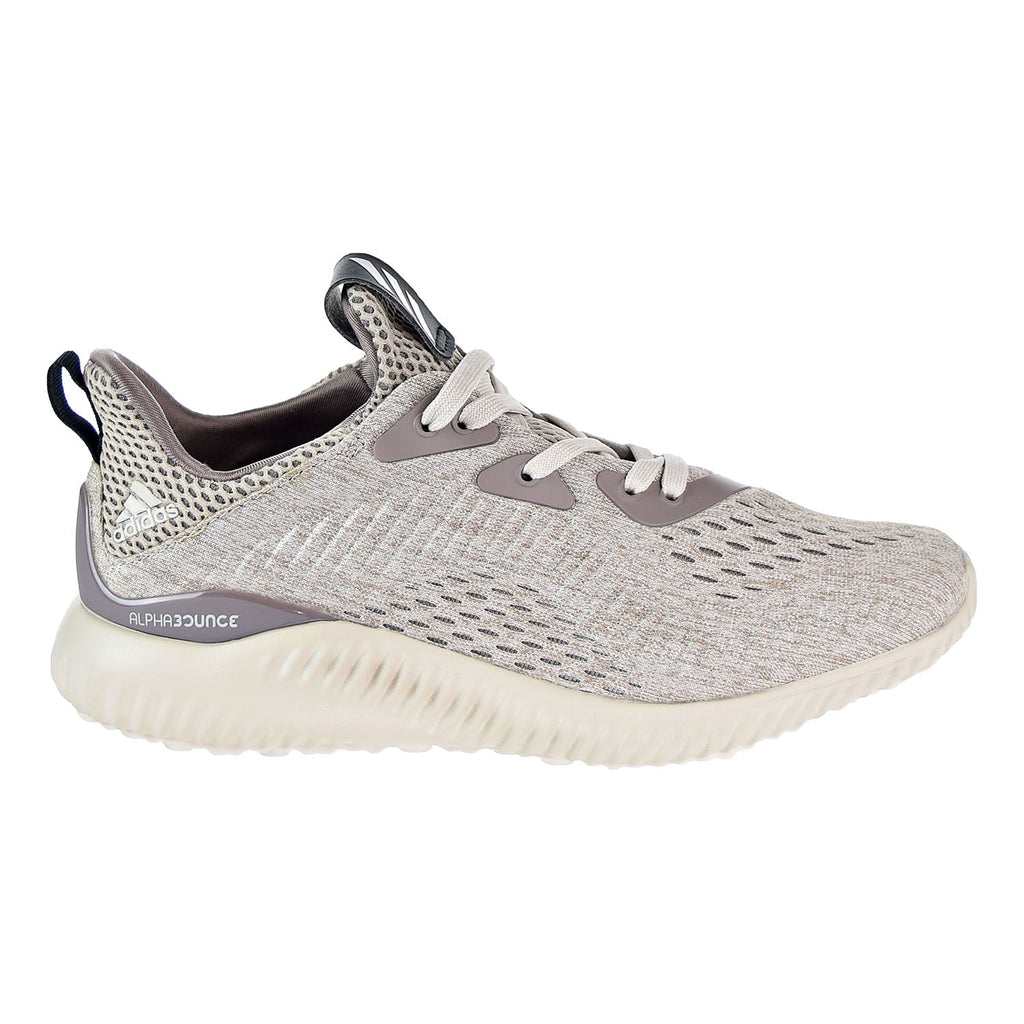 Adidas Alphabounce EM J Big Kid's Running Shoes Tecear/Core Brown