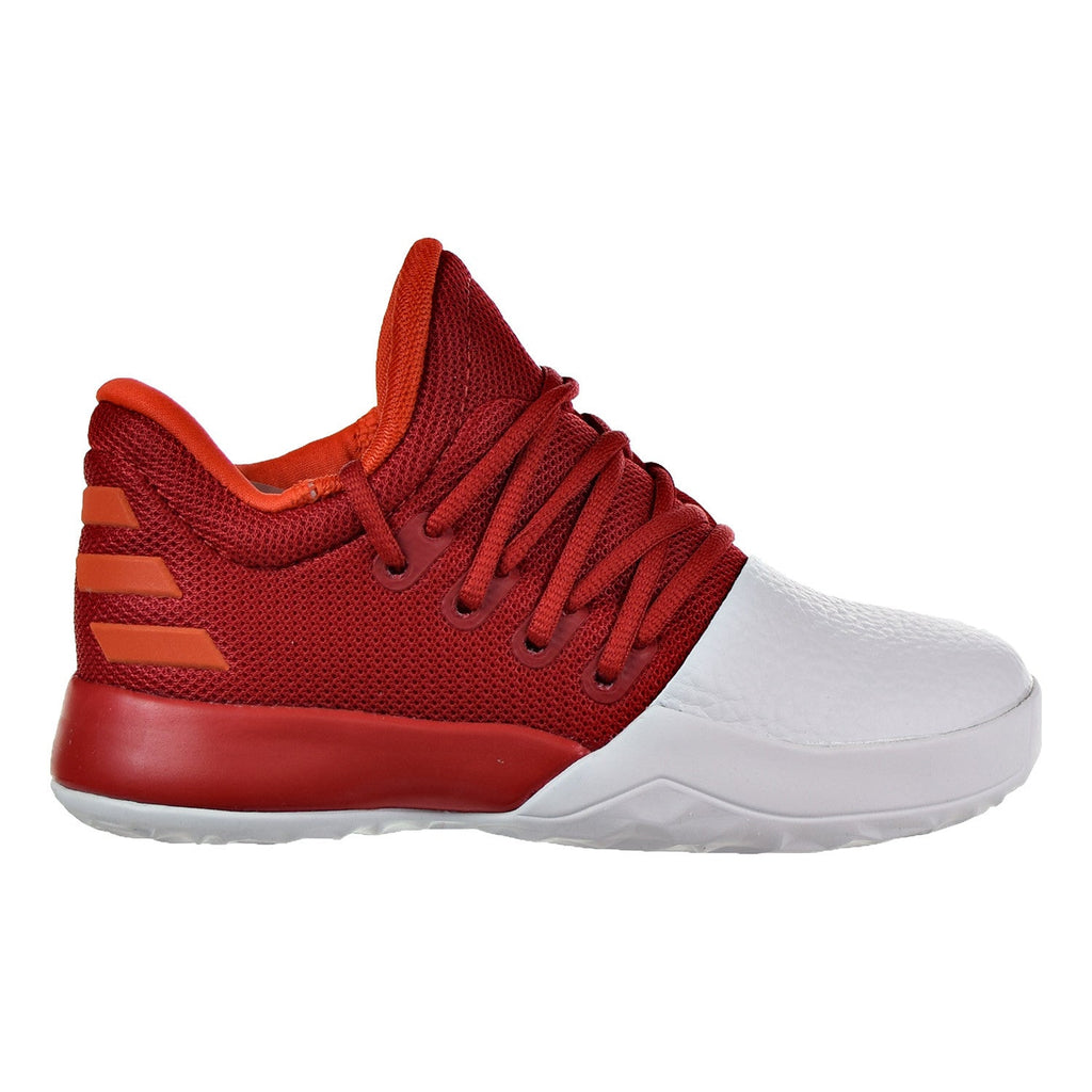 Adidas Harden Vol.1 C Little Kid's Shoes Scarlet/White