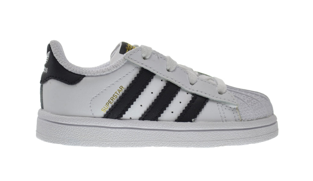 Adidas Superstar I Baby Toddlers Shoes Running White/Collegiate Black
