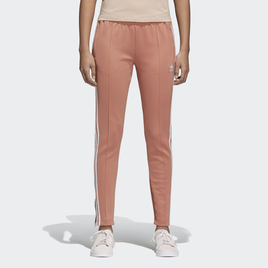 Adidas Women's Originals SST Track Pants Ash Pink/White