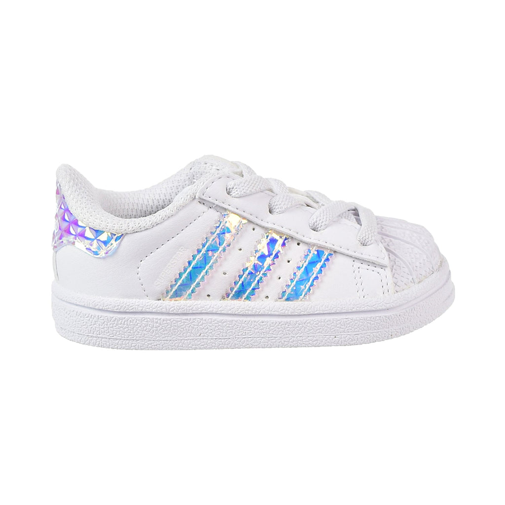 Adidas Superstar EL Toddler's Shoes Cloud White/Cloud White/Cloud White