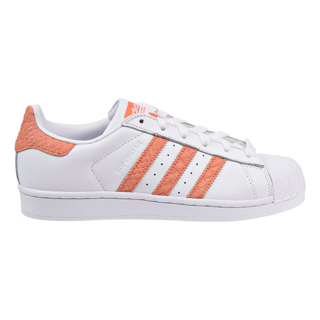 Adidas Superstar W Women's Shoes Footwear White/Chalk Coral/Off White