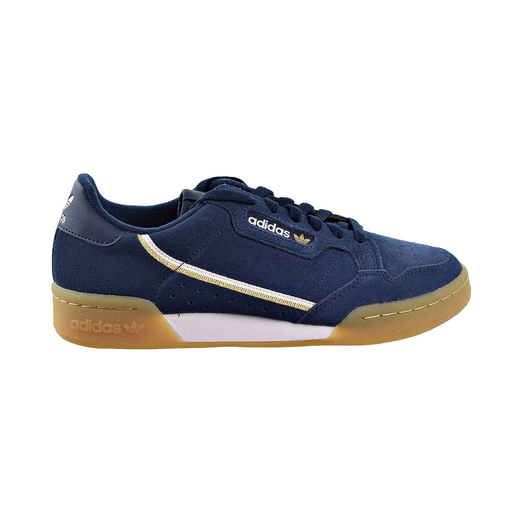 Adidas Continental Mens Shoes Colligiate Navy/Cloud White/Gold  Metallic