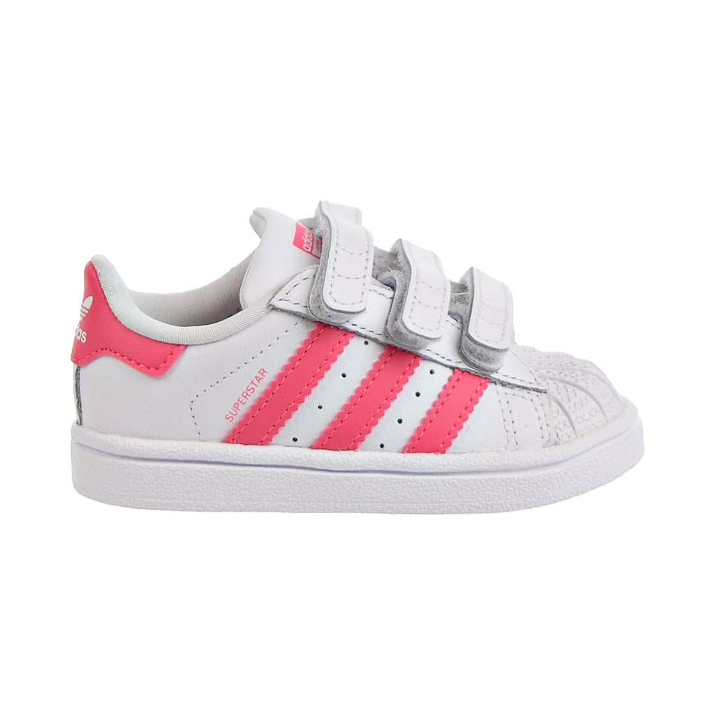 Adidas Superstar CF I Toddler Shoes Footwear White/Real Pink/Real Pink