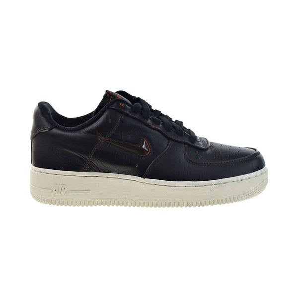 Nike Air Force 1 '07 Premium 'Jewel' Men's Shoes Black-Safety Orange