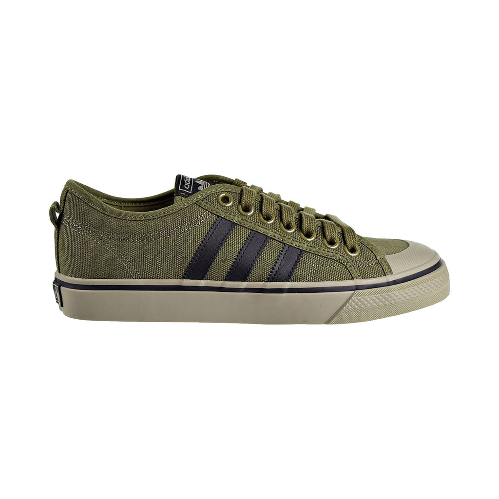 Adidas Nizza Mens Shoes Olive Cargo/Core Black/Tech Beige