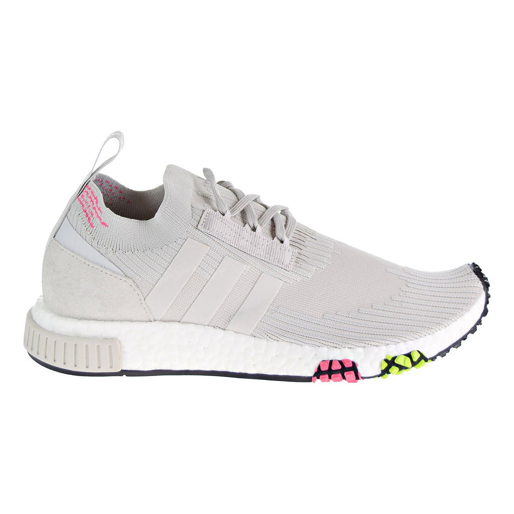 Adidas NMD_Racer Primeknit Men's Shoes Grey One/Solar Pink