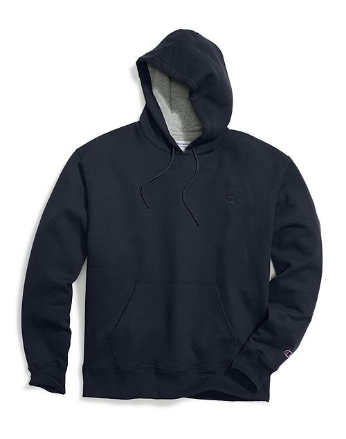 Champion Men's Powerblend Sweats Pullover Hoodie Navy