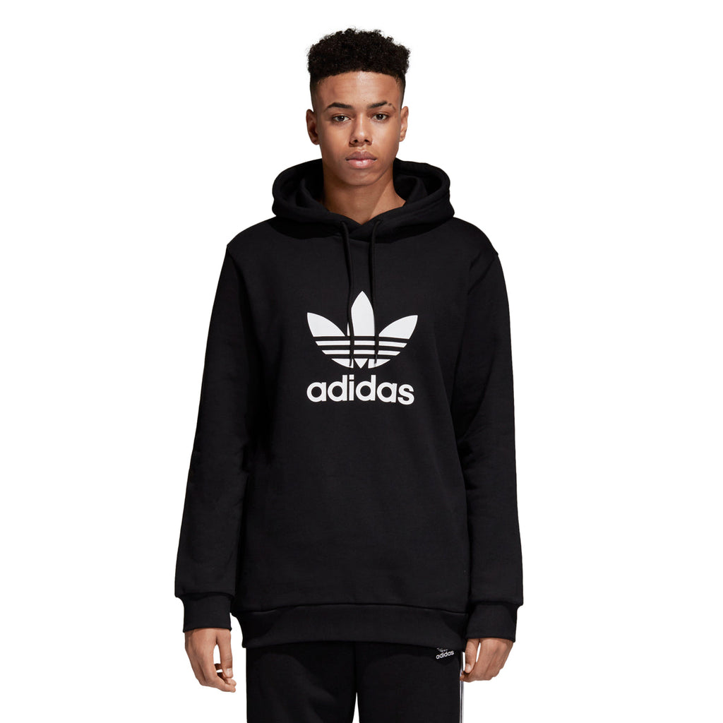 Adidas Men's Originals Trefoil Hoodie Black/White