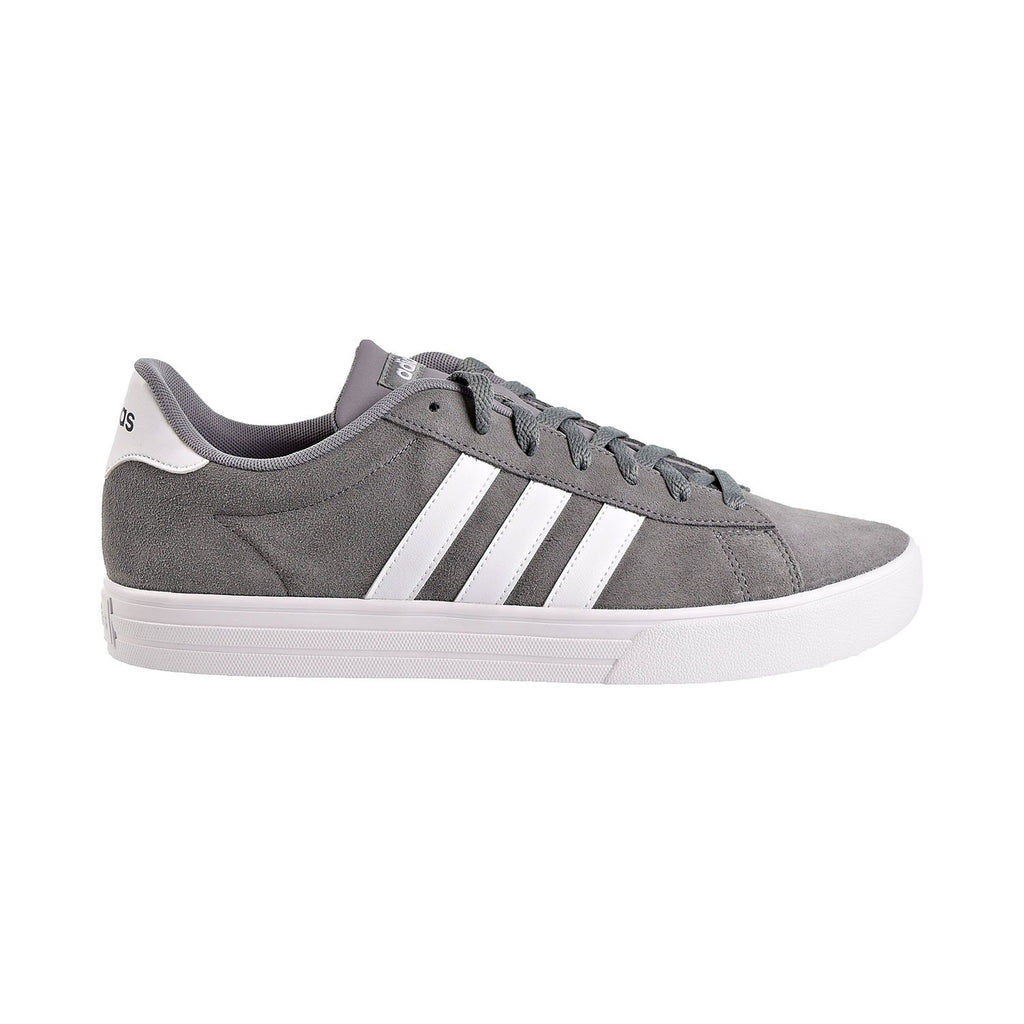 Adidas Daily 2.0 Suede Mens Shoes Grey Three/Footwear White