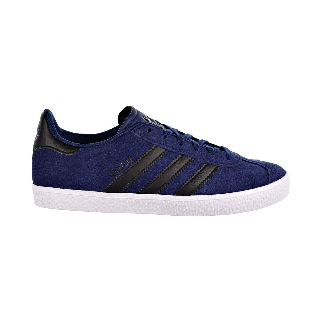 Adidas Gazelle Big Kids Shoes Dark Blue/Core Black
