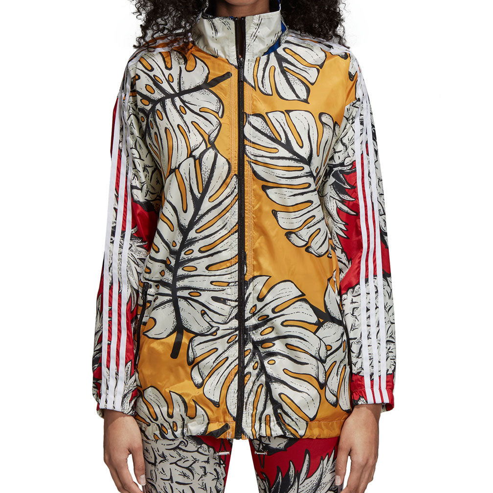 Adidas Originals 3-Stripes Women's Windbreaker Jacket Multicolor