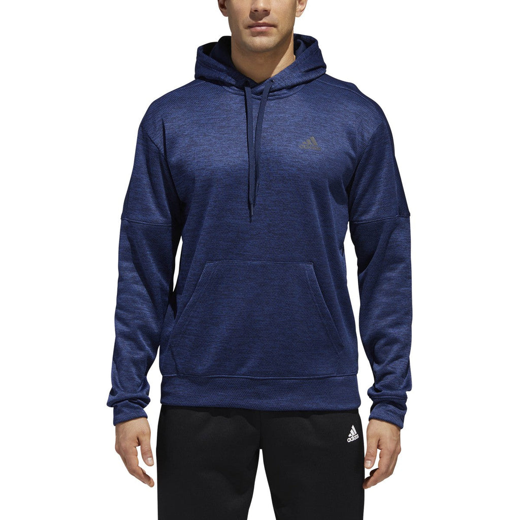 Adidas Men's Athletics Team Issue Hoodie FL COLL Navy Melange
