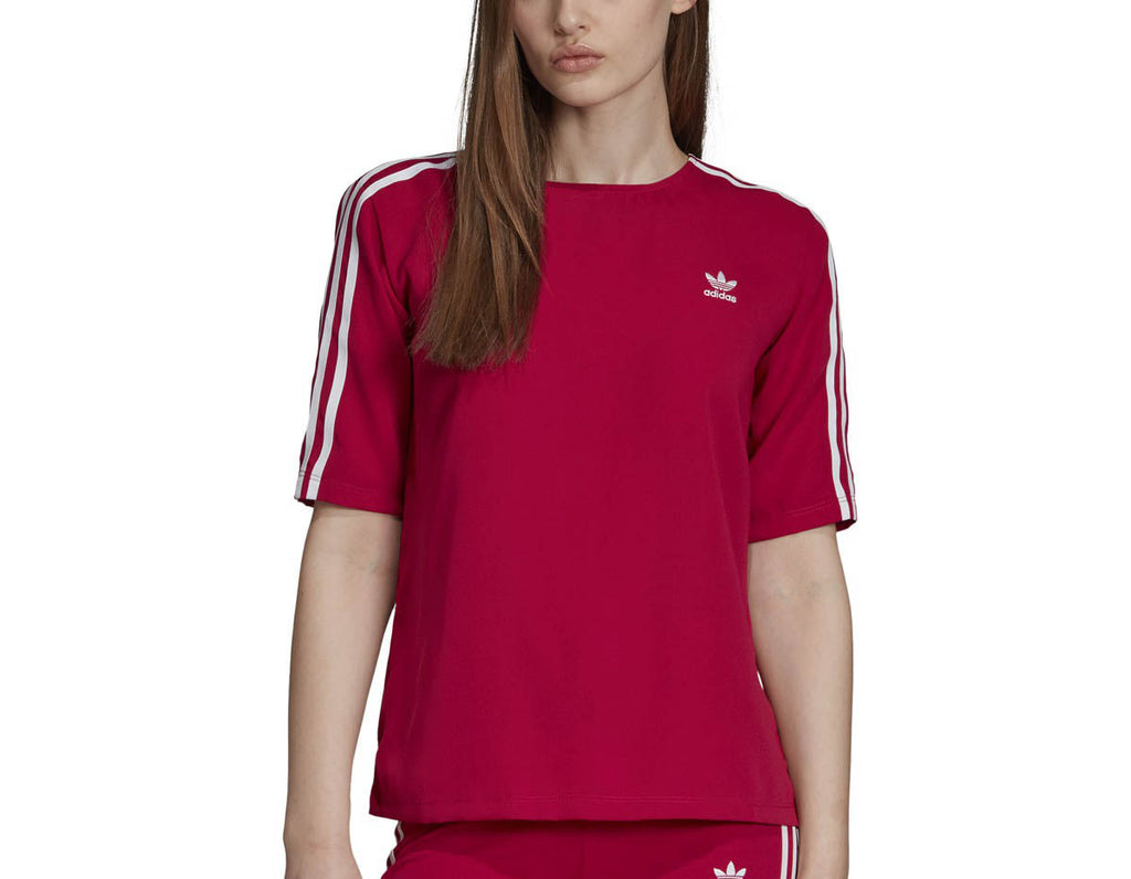 Adidas Women's Originals 3-Stripes T-shirt Pride Pink