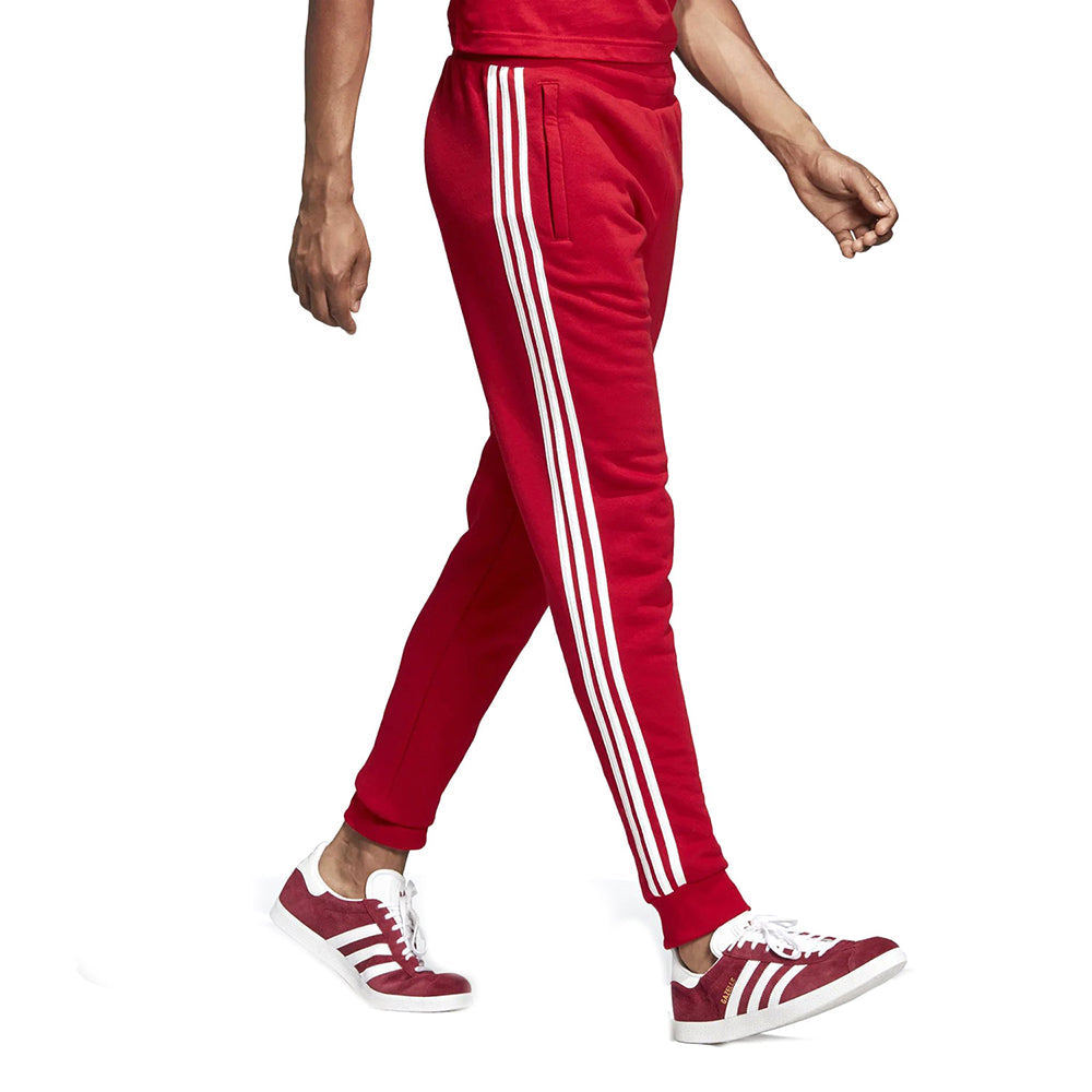 Adidas Men's Originals 3-Stripes Pants Power Red