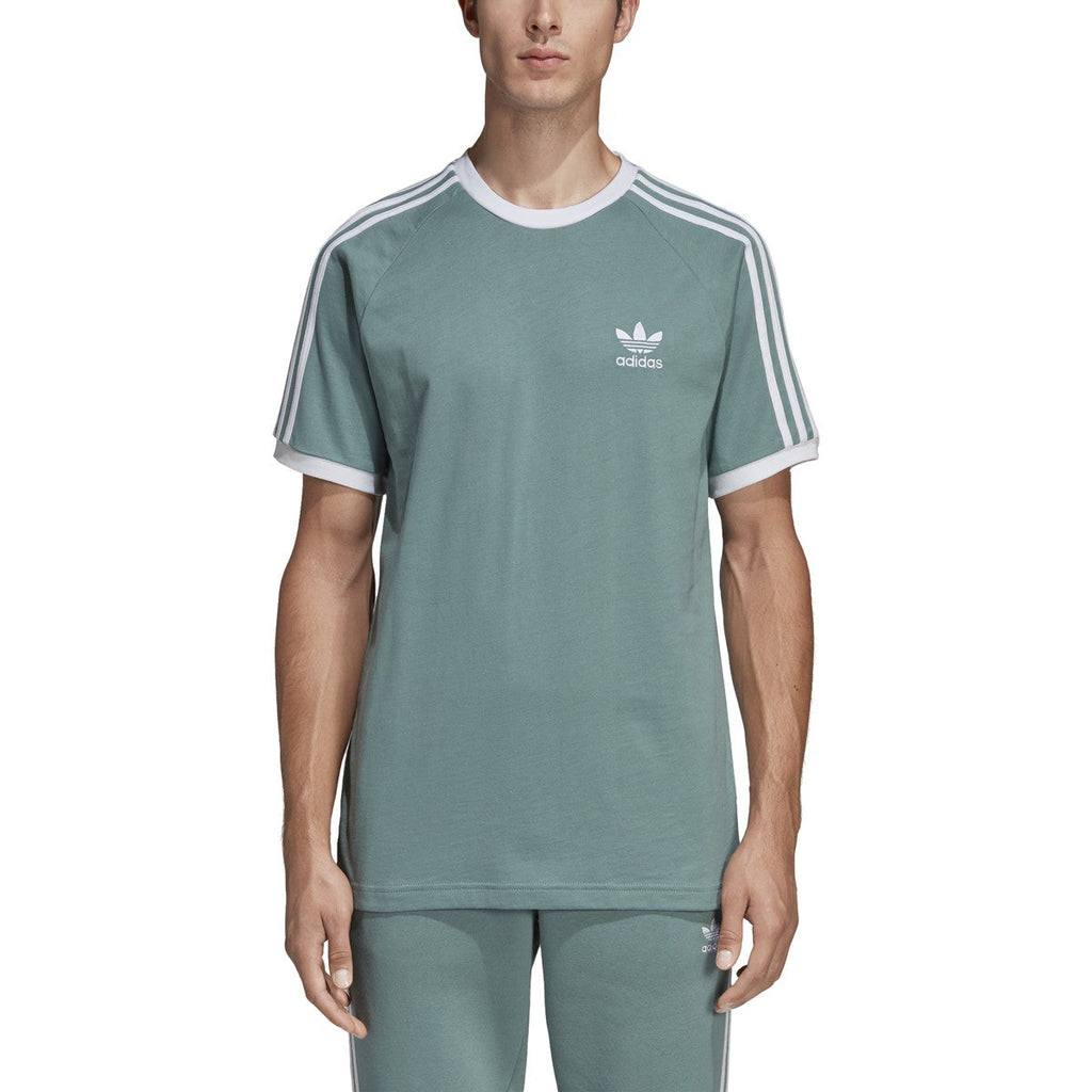 Adidas Men's Originals 3-Stripes Tee Vapour Steel