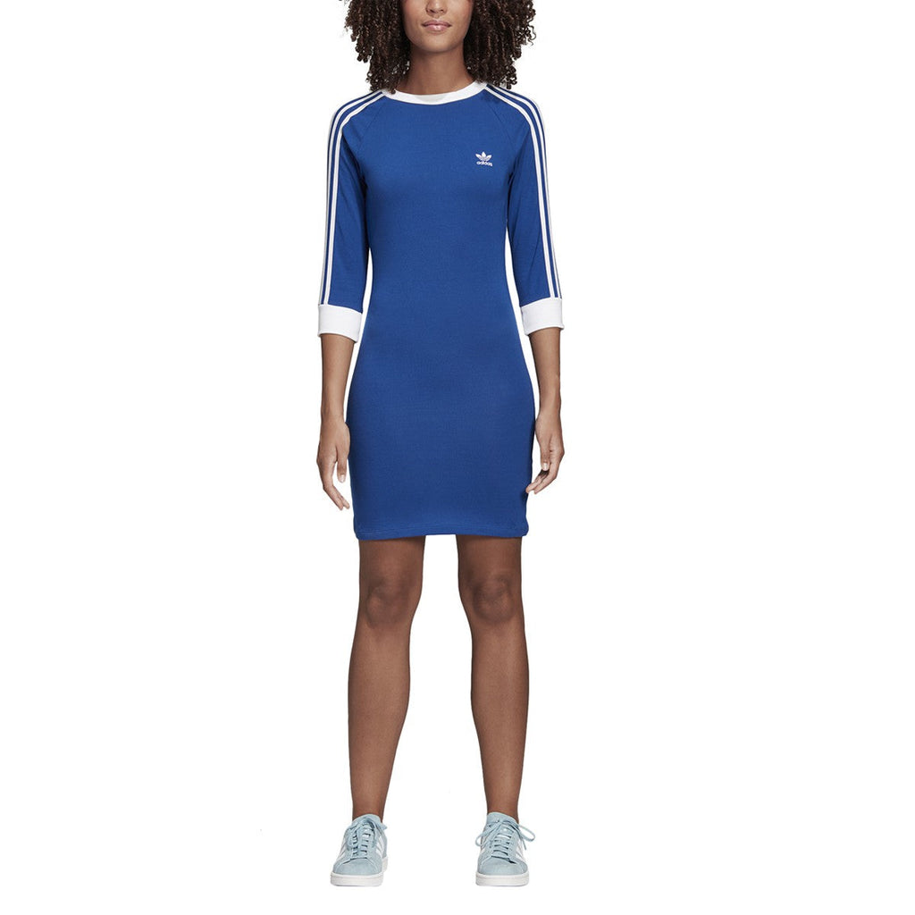 Adidas Women's Originals 3-Stripes Dress Dark Blue