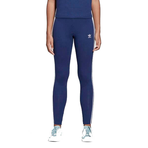 Adidas Originals 3-Stripes Womens Leggings Dark Blue