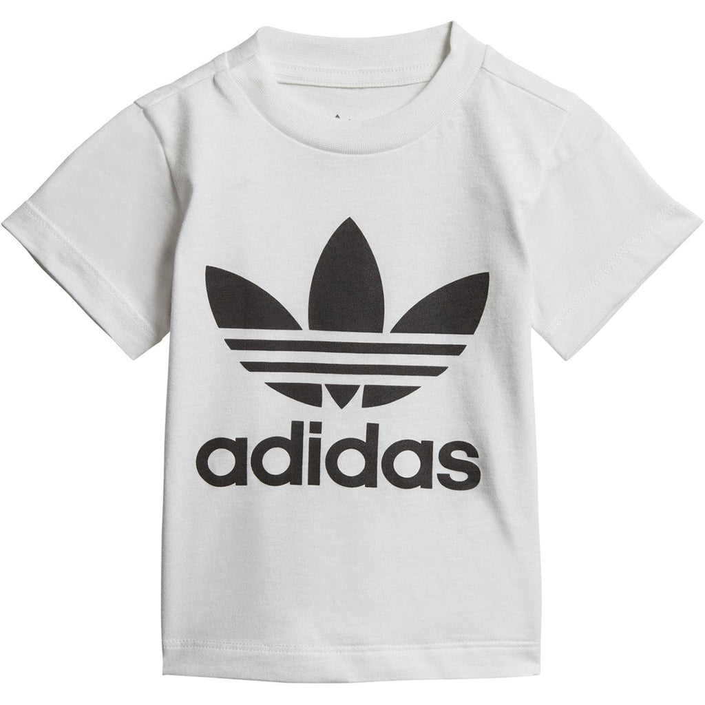 Adidas Toddlers' Originals Trefoil Tee White/Black