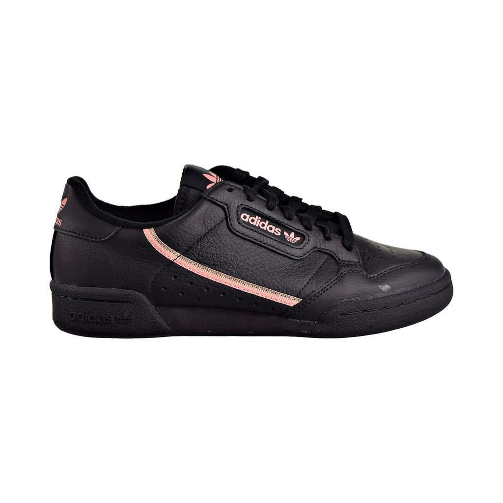 Adidas Continental 80 Women's Shoes Core Black/Trace Pink/Copper Metallic