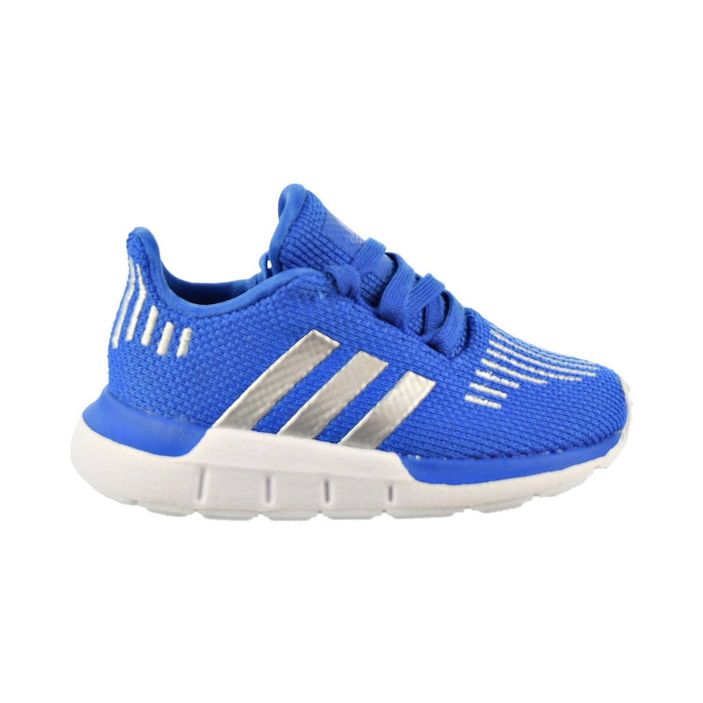 Adidas Swift Run I Toddler Shoes Blue/Metal Silver/Core Black