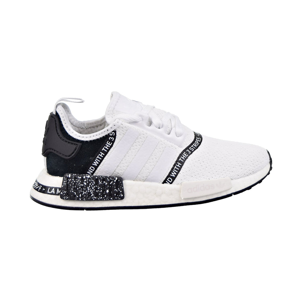 Adidas NMD_R1 J Big Kids Cloud White/Cloud White/Core Black