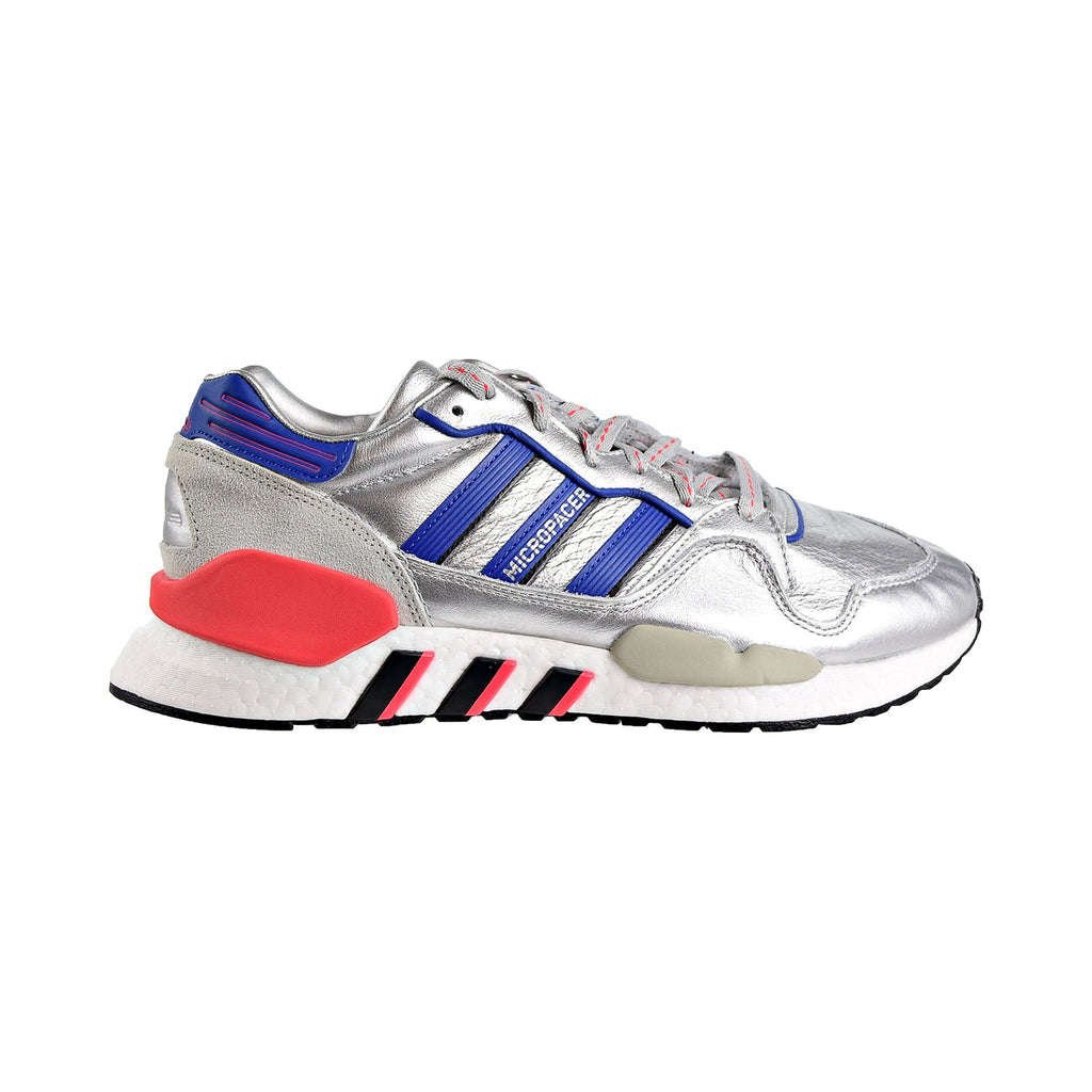Adidas ZX930 X EQT Mens Shoes Silver Metallic/Power Blue/Shock Red