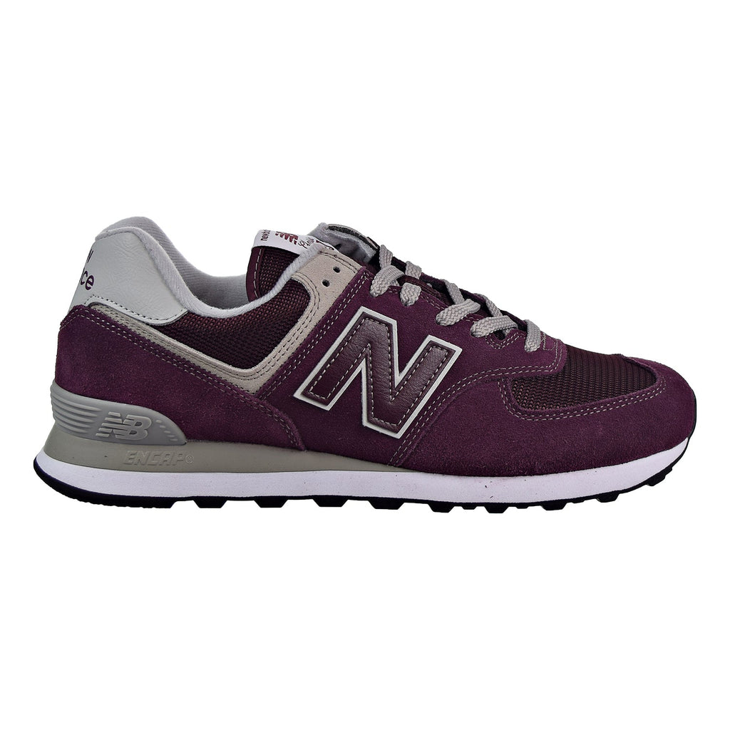 New Balance 574 Men's Shoes Burgundy