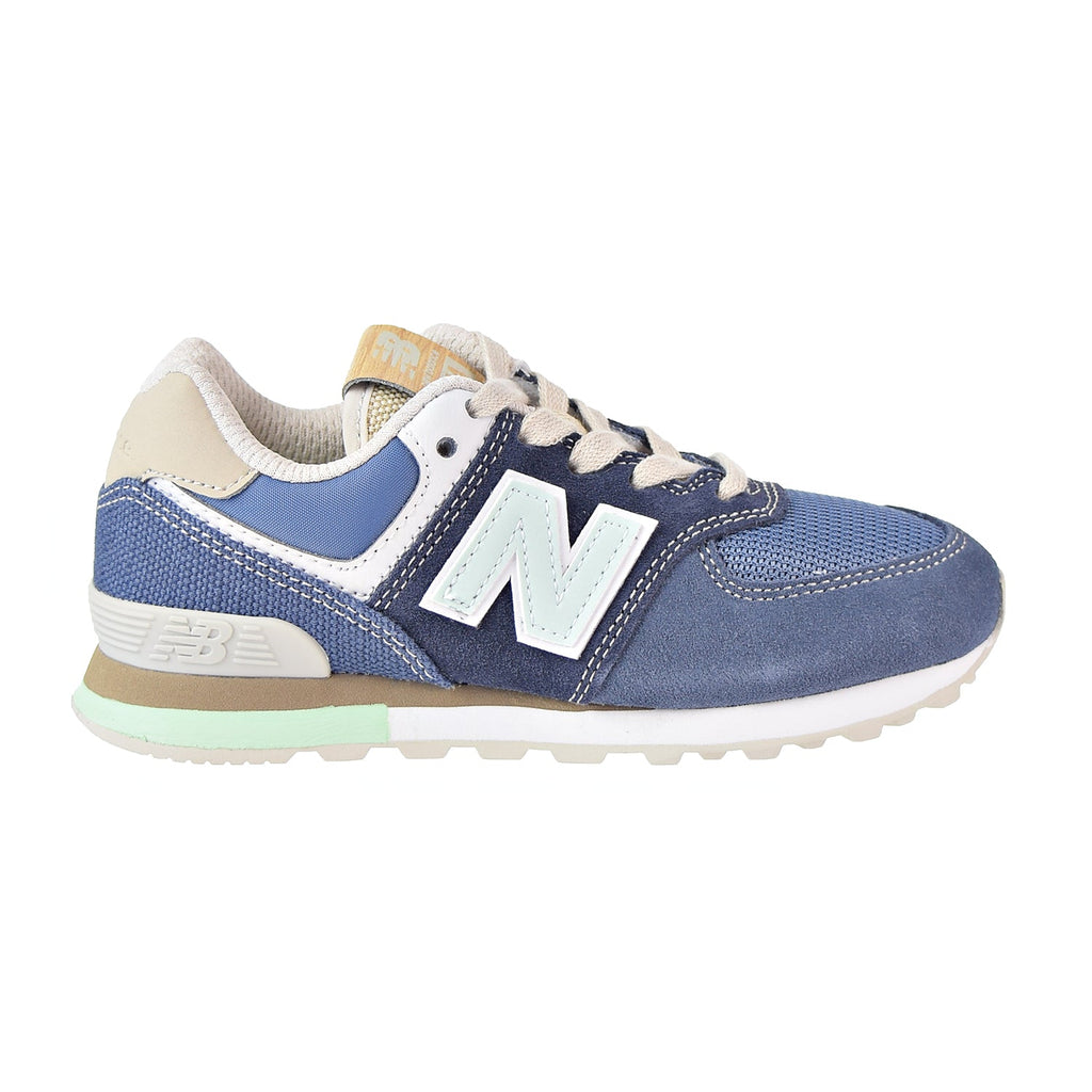 New Balance 574 Core Little Kid's Shoes Blue/Green