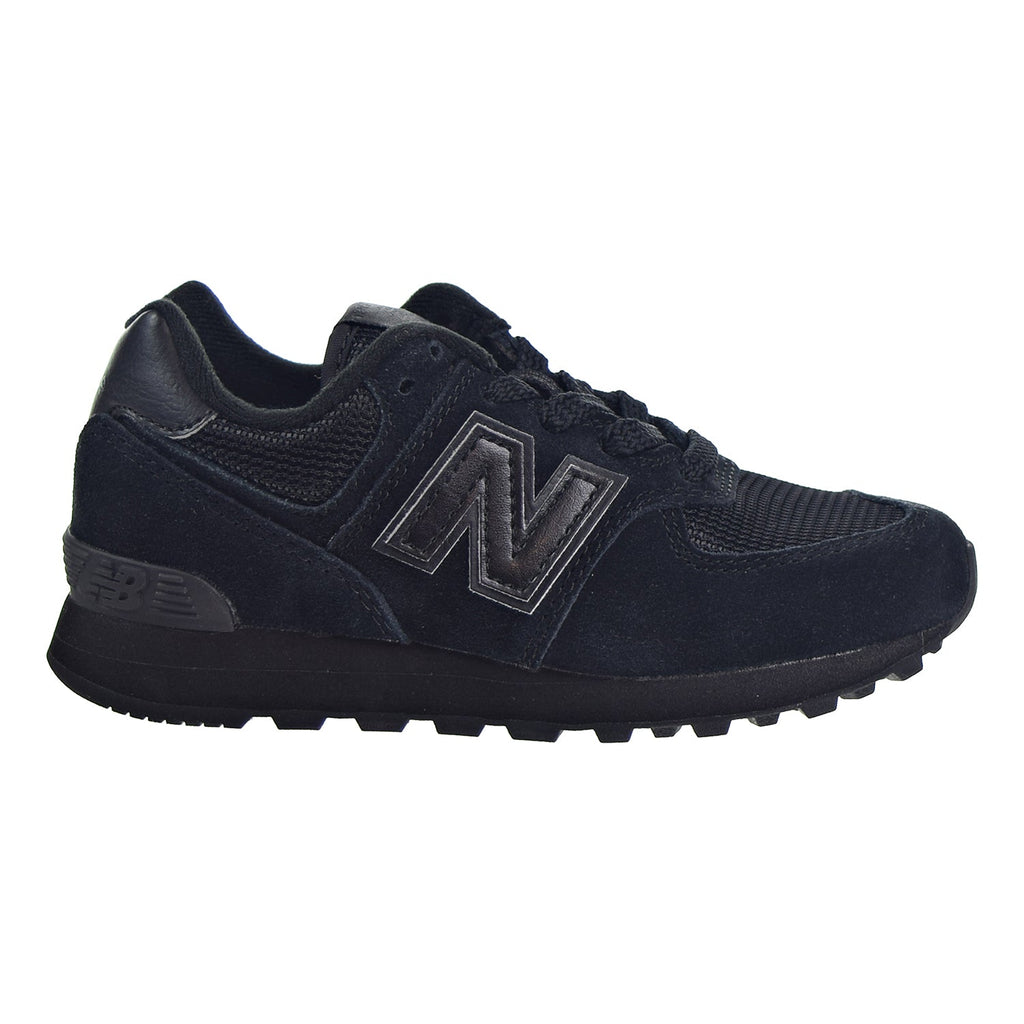 New Balance 574 Little Kid's Shoes Black/Black