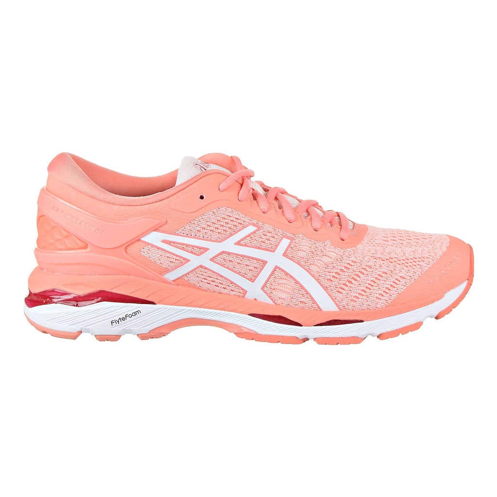 Asics Gel-Kayano 24 Women's Running Shoes Seashell Pink/White/Begonia Pink