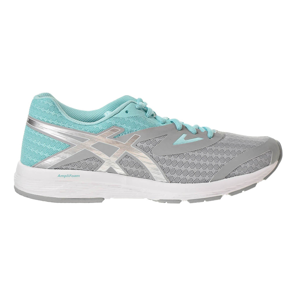 Asics Amplica Women's Runing Shoes Mid Grey/Silver/Aruba Blue
