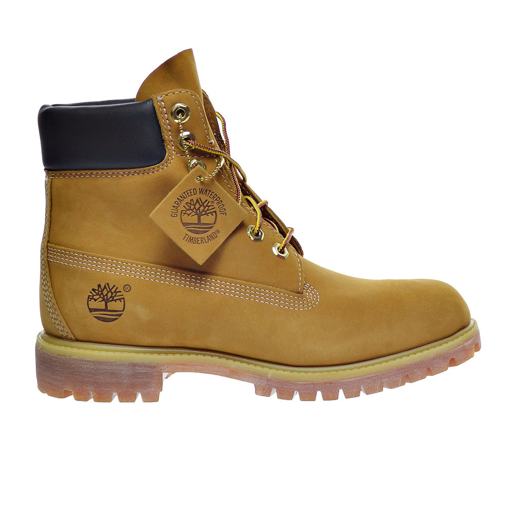Timberland 6 Inch( Wide Width) Premium Men's Waterproof Boots Wheat