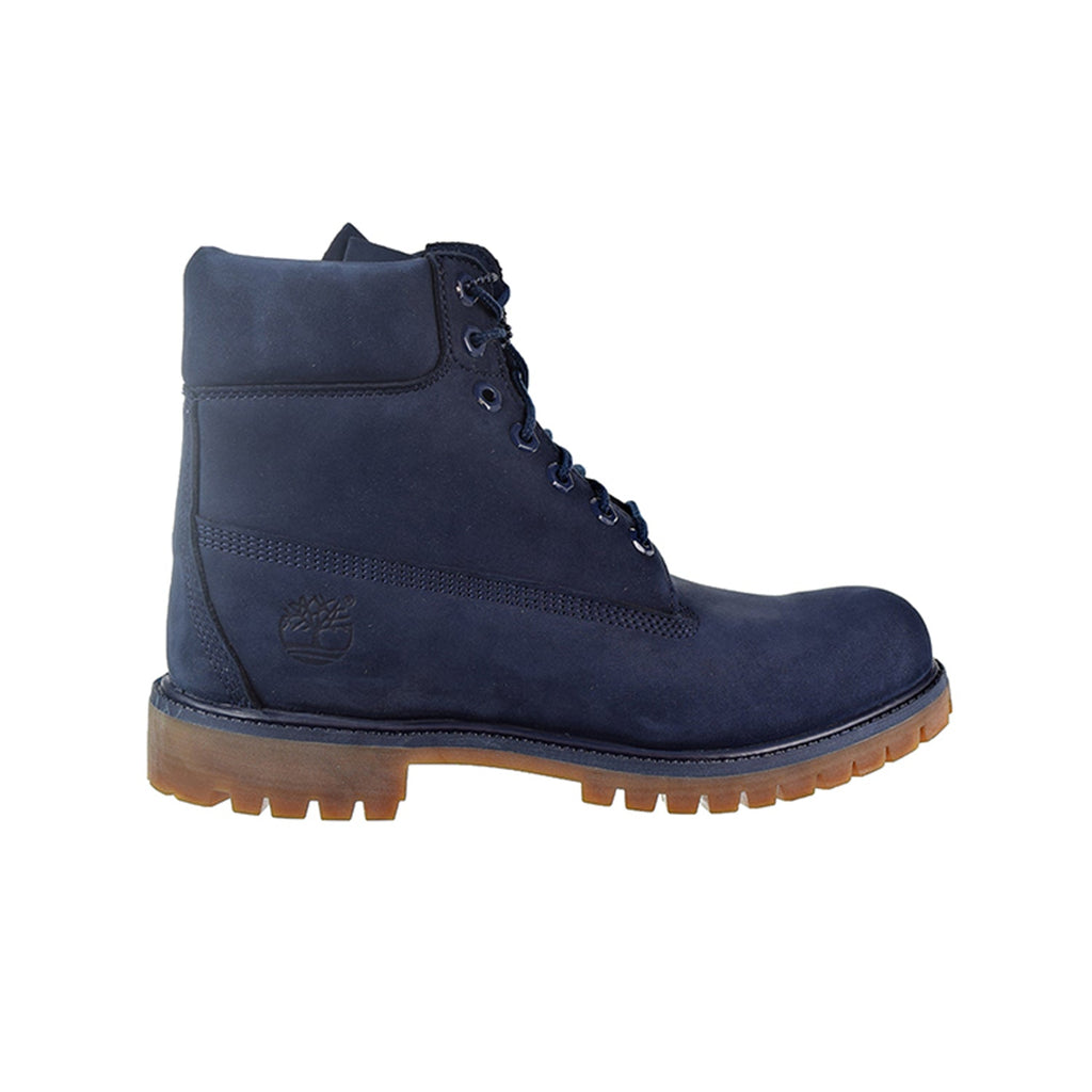 Timberland 6 Inch Premium Men's Boots Navy Blue