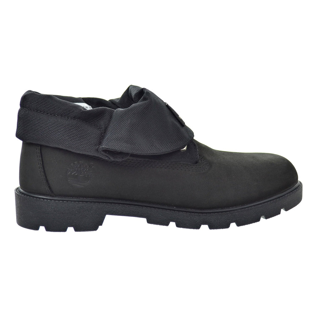 Timberland Roll Top Big Kid's Shoes Black