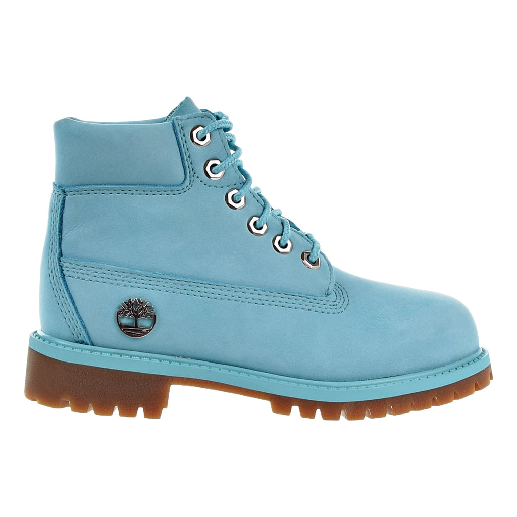 Timberland 6 Inch Premium Little Kid's Boots Blue