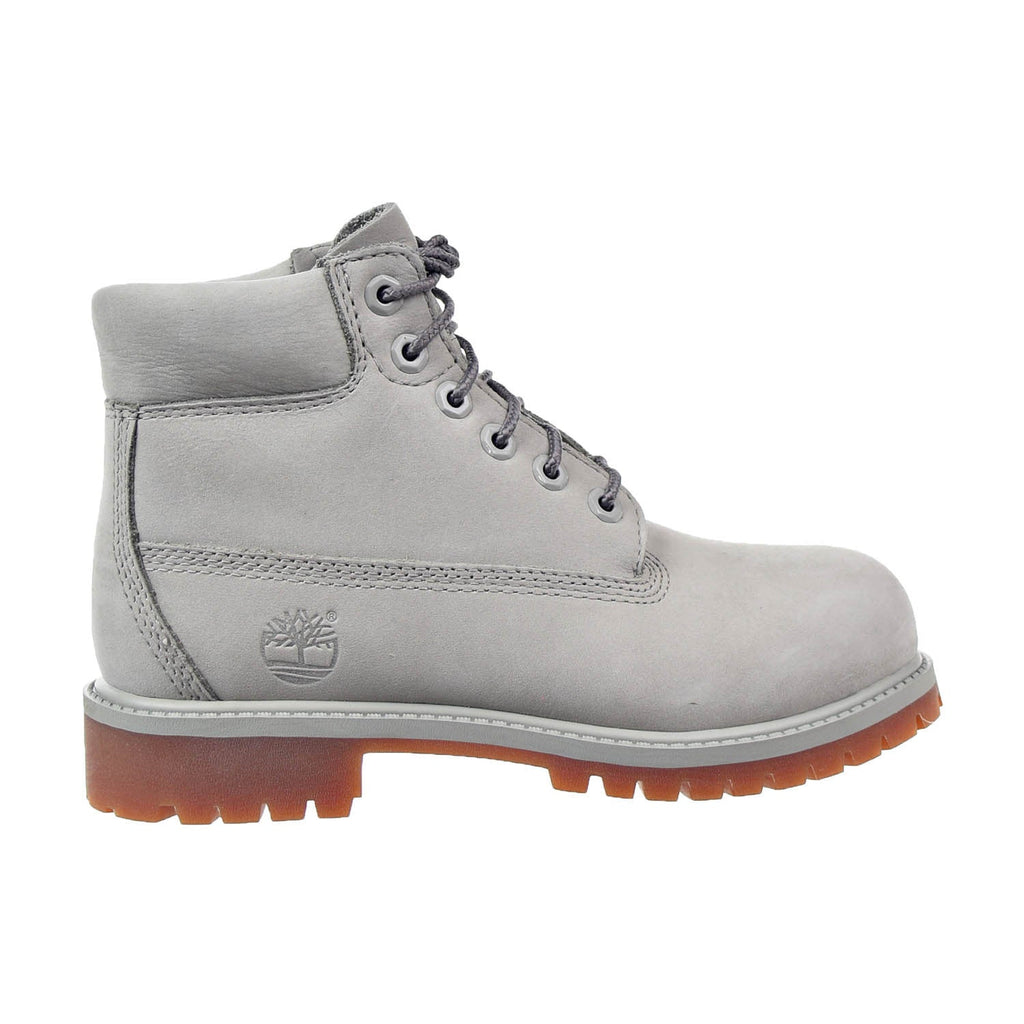 Timberland 6 Inch Premium Little Kids Boots Light Grey