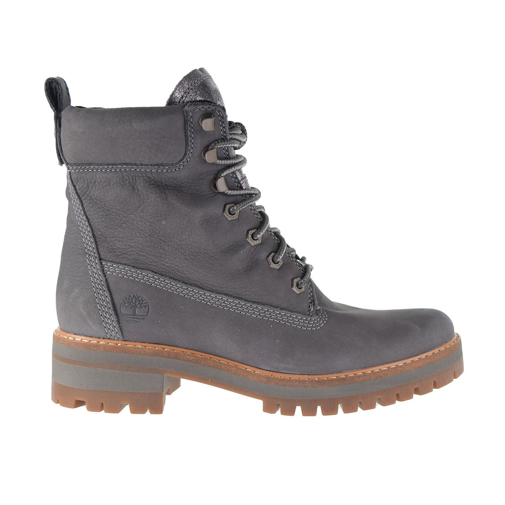 Timberland Courmayeur Valley 6 Inch Women's Boots Dark Grey Nubuck