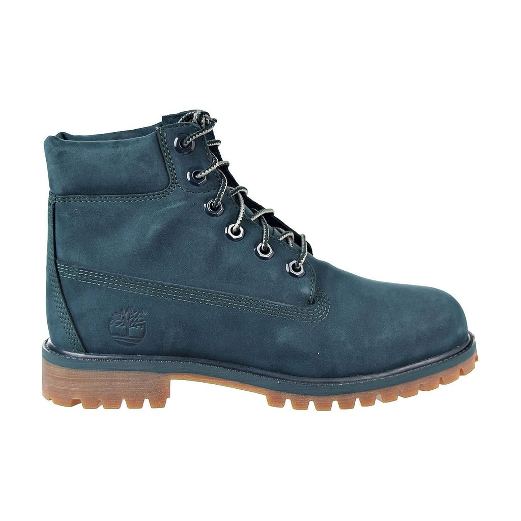 Timberland 6 Inch Premium Junior's Boot Dark Green