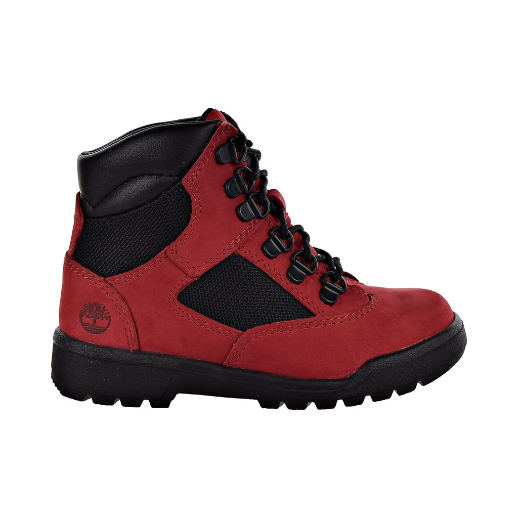 "Timberland 6"" Field Boot L/F Big Kids' Shoes Red"
