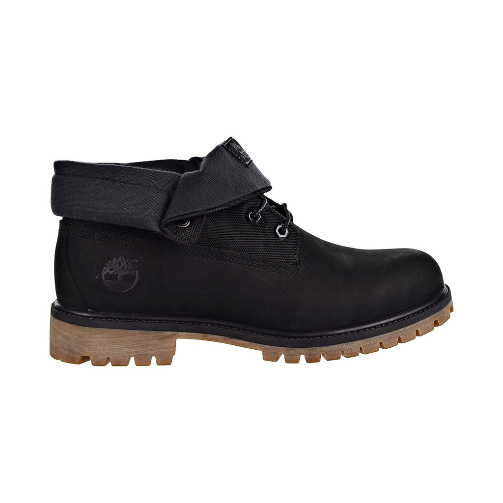 Timberland Heritage Roll Top Boot Men's Shoes Black